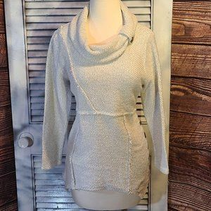 Soft Surroundings SmPet Button Accent Sweater
